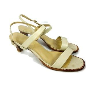 Bernardo Leather Light Weight Natural Color Sandal